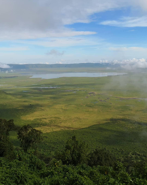 фото парка Нгоронгоро общий
