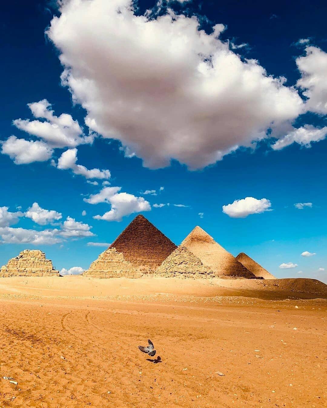пирамиды в каире фото